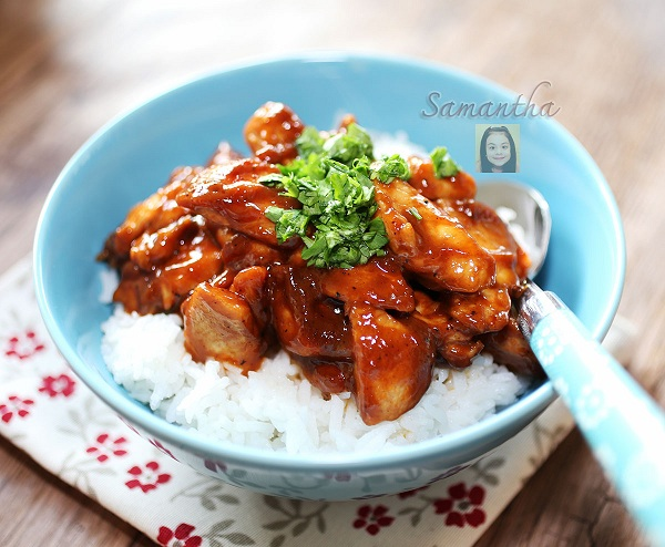 bbq sauce fried chicken recipe (1)
