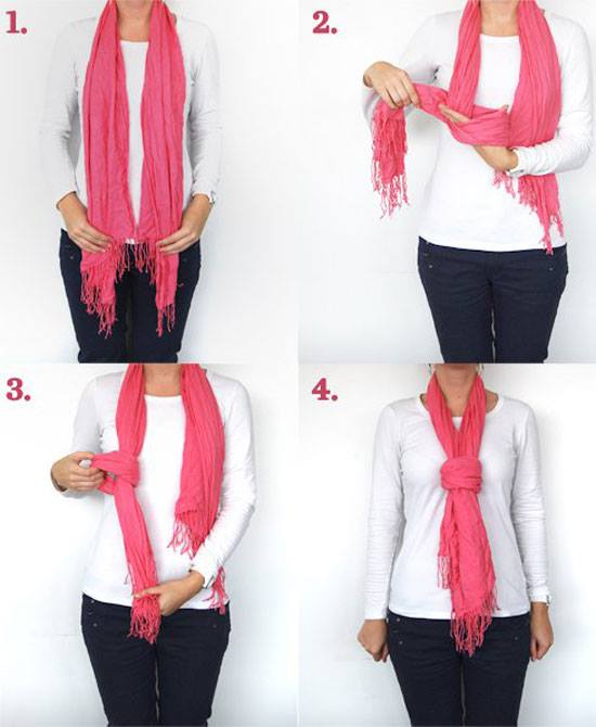 how to wear scarf fashionably (3)