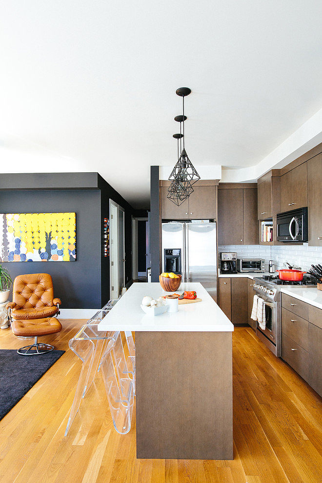 modern apartment black interior design (2)