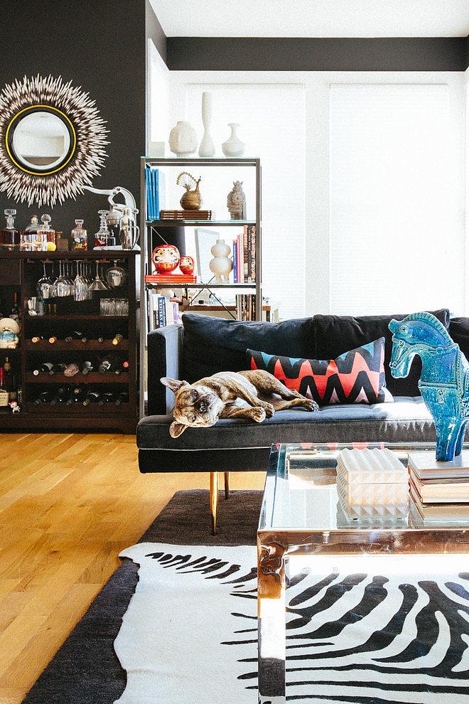 modern apartment black interior design (3)
