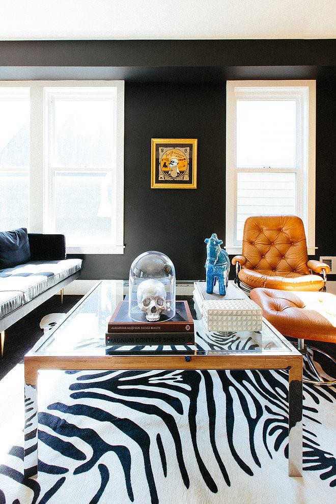 modern apartment black interior design (4)