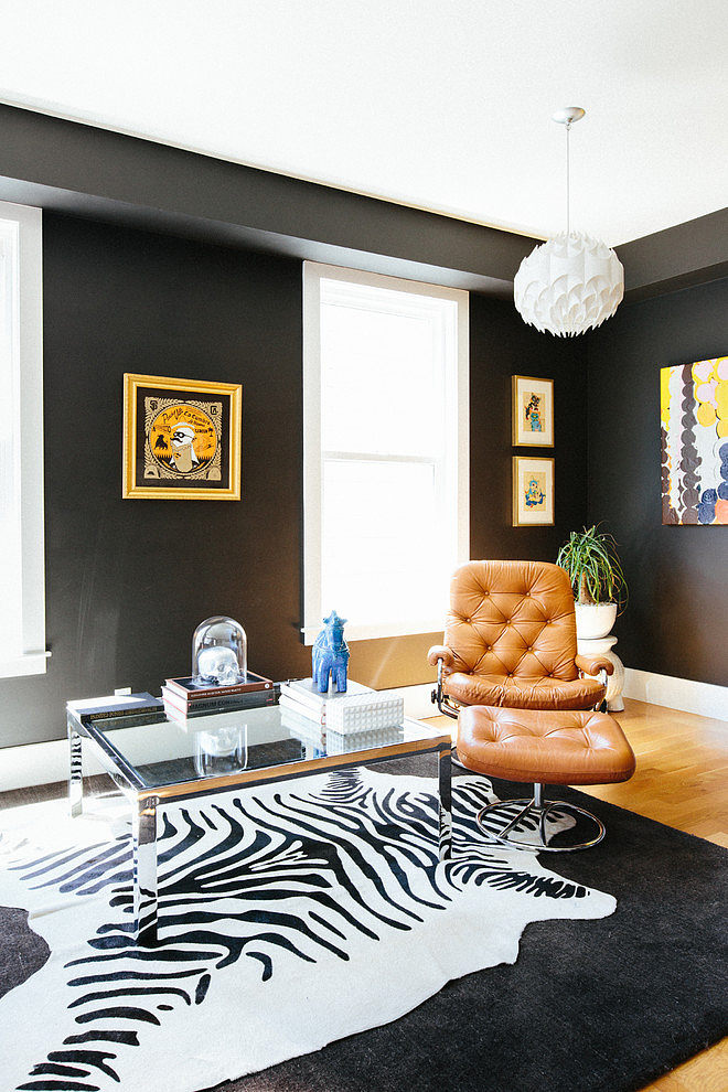 modern apartment black interior design (5)