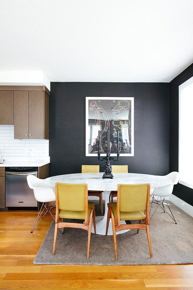 modern apartment black interior design (6)