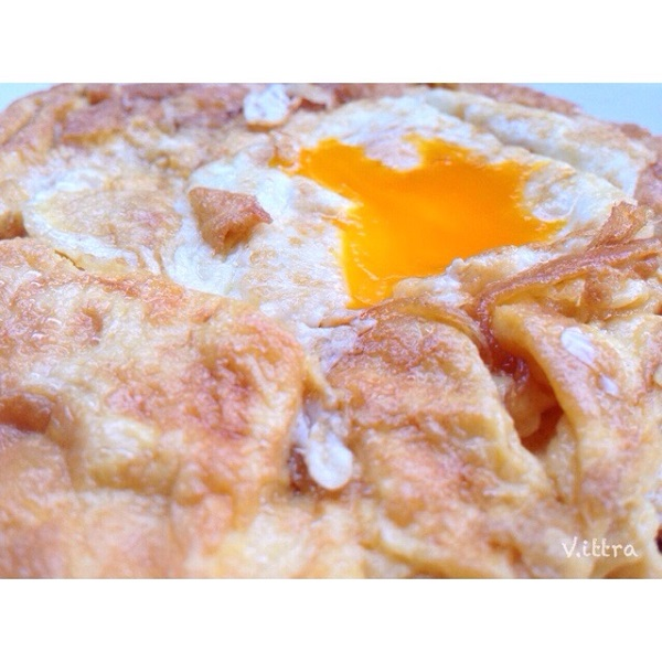 omelet mixed fried egg recipe