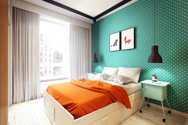 quirky contemporary apartment interior design (1)