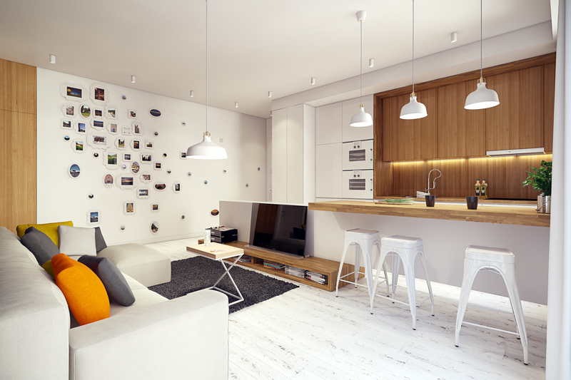 quirky contemporary apartment interior design (11)