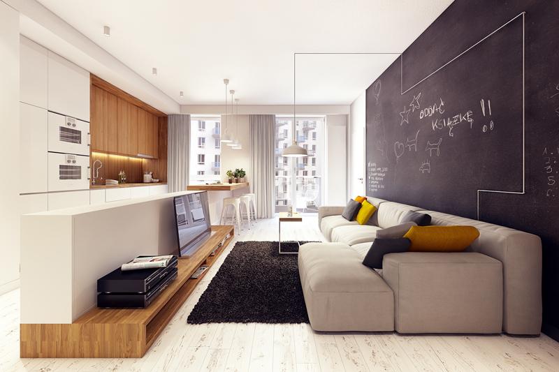 quirky contemporary apartment interior design (3)