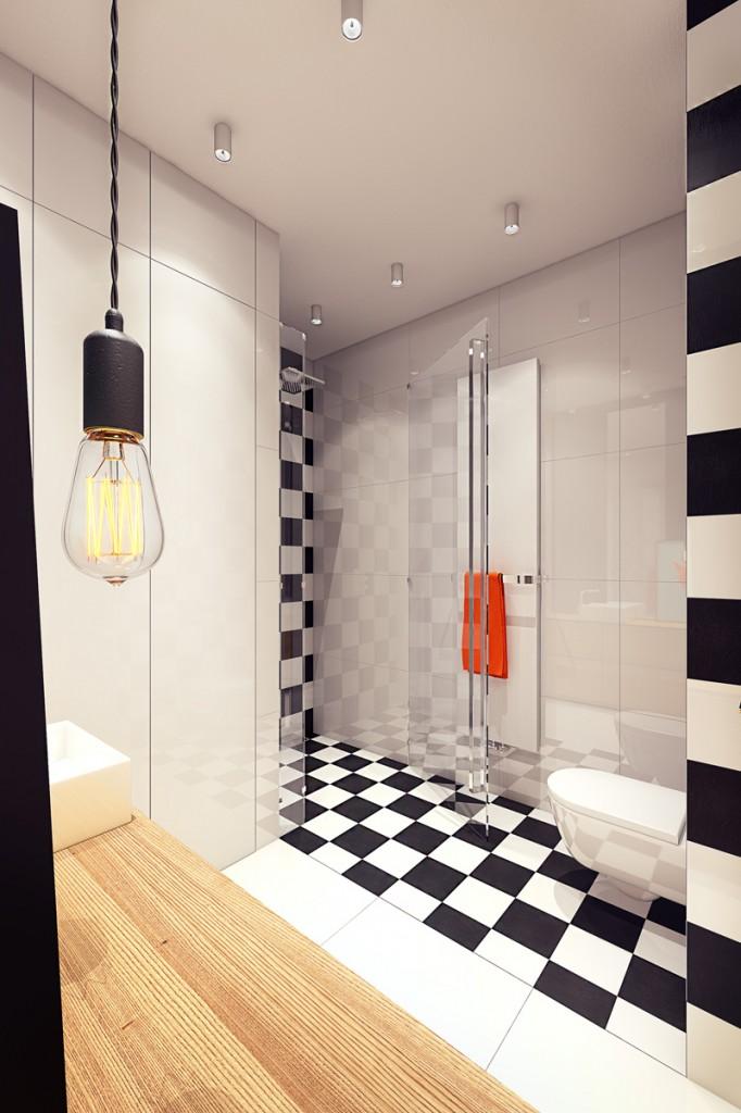 quirky contemporary apartment interior design (4)