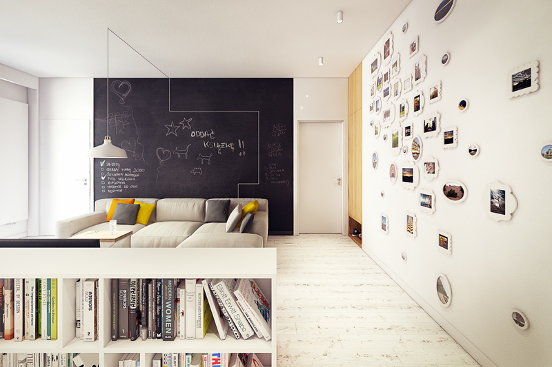 quirky contemporary apartment interior design (7)