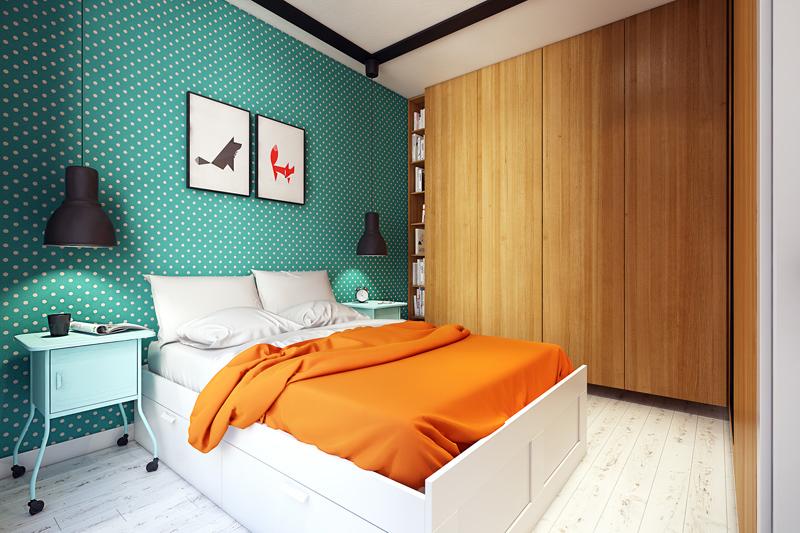 quirky contemporary apartment interior design (8)