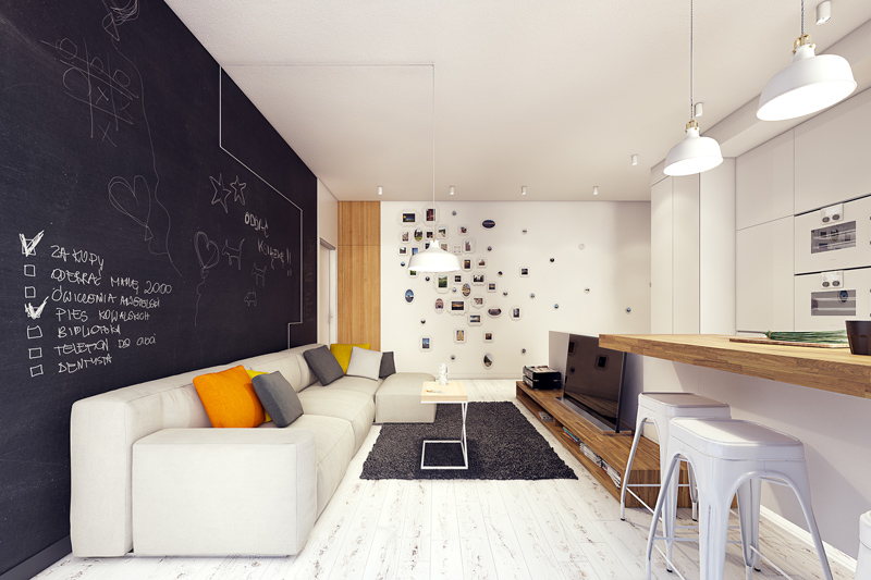 quirky contemporary apartment interior design (9)