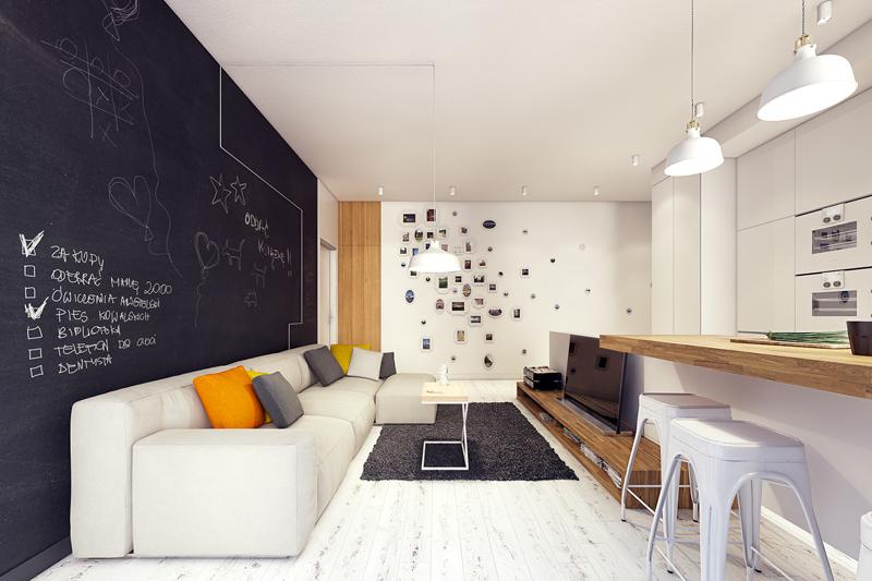 quirky contemporary apartment interior design (9)