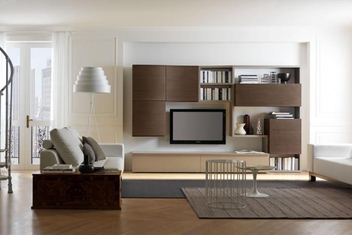 15 Living room interior designs in beige tone (14)
