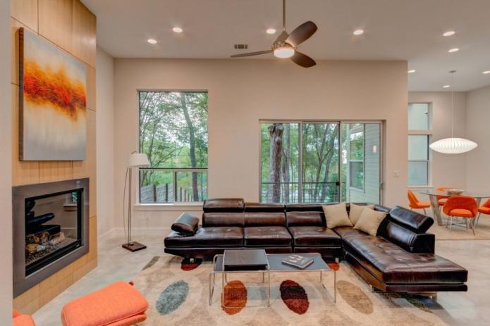 15 Living room interior designs in beige tone (16)