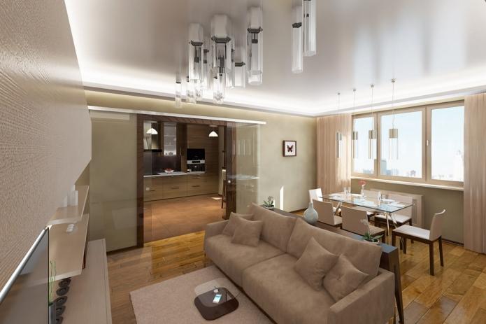 15 Living room interior designs in beige tone (3)