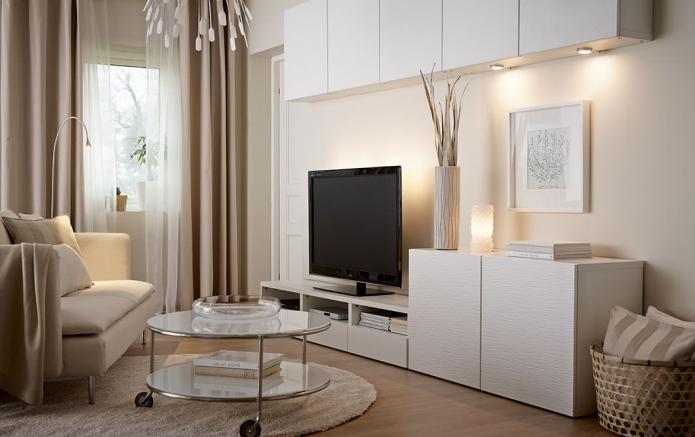 15 Living room interior designs in beige tone (5)