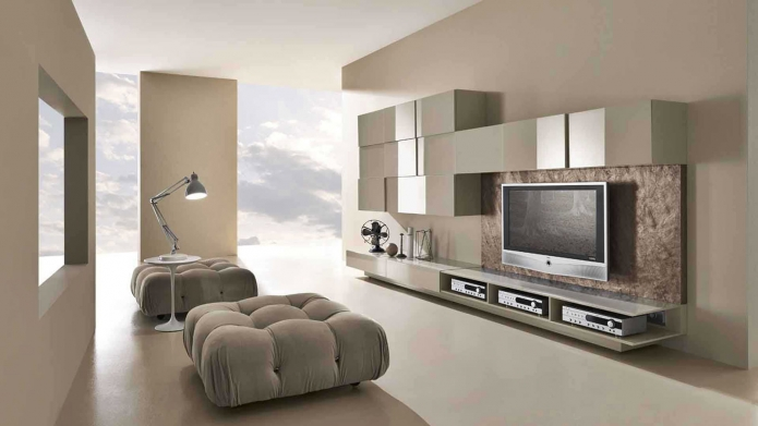15 Living room interior designs in beige tone (6)