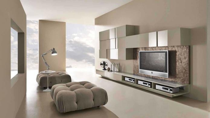 15 Living room interior designs in beige tone (6)