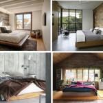 แต่งห้องนอนด้วยผนังไม้ สร้างบรรยากาศผ่อนคลายและเป็นธรรมชาติ
