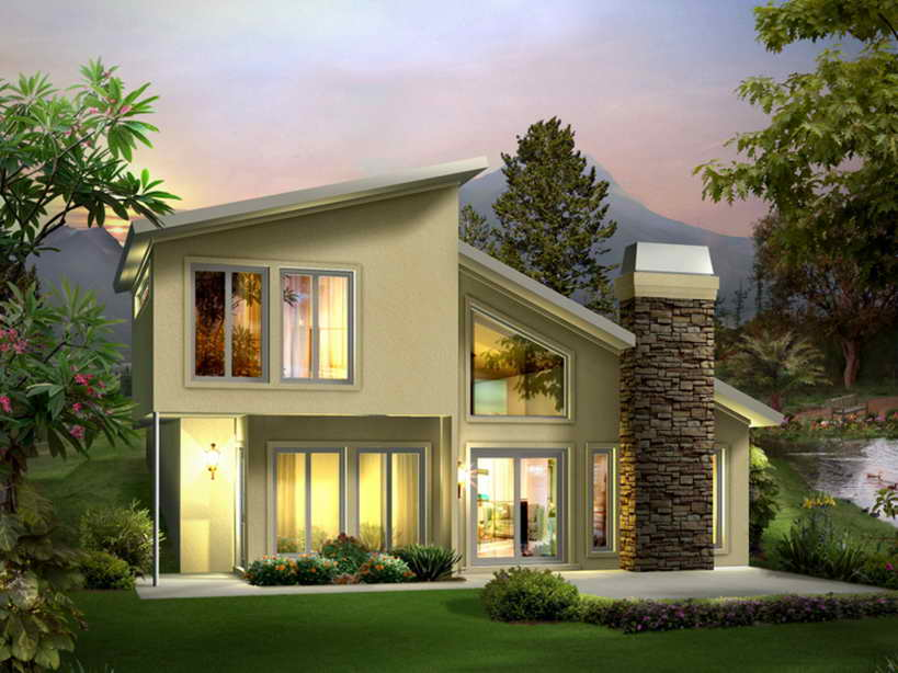 2 floor concrete contemporary house (1)