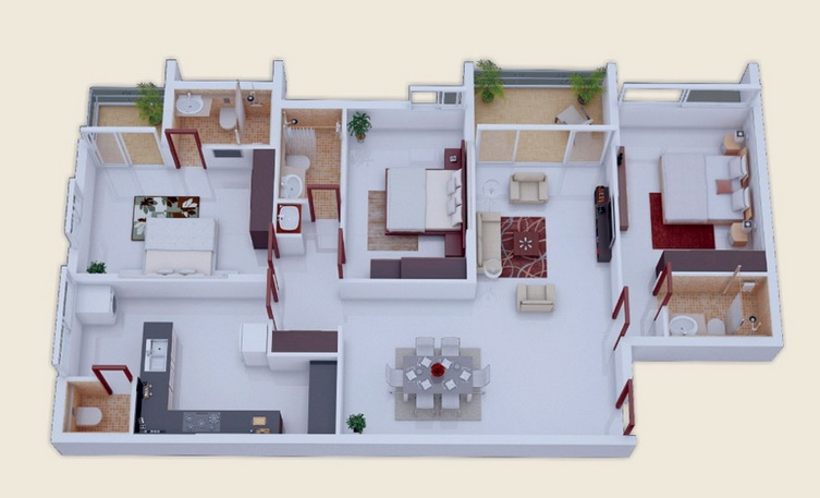 25-more-3-bedroom-3d-floor-plans (14)