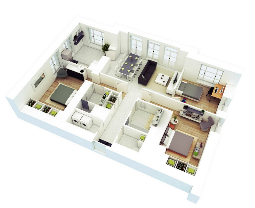 25-more-3-bedroom-3d-floor-plans (15)