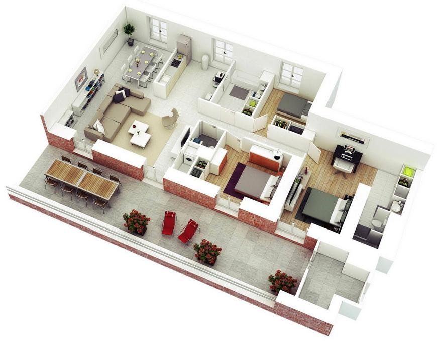 25-more-3-bedroom-3d-floor-plans (17)