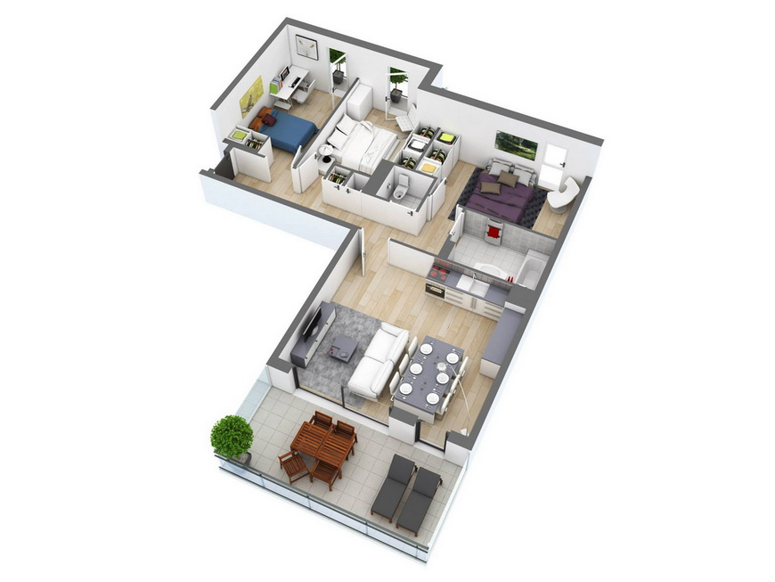 25-more-3-bedroom-3d-floor-plans (20)