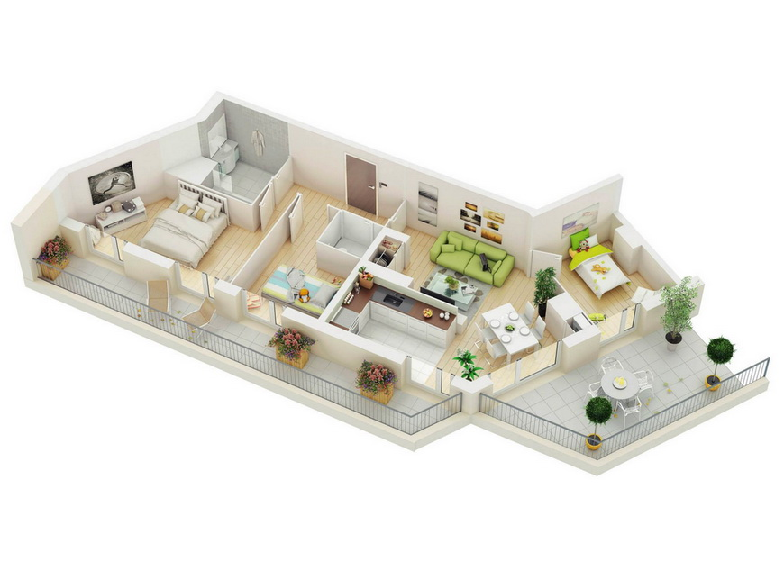 25-more-3-bedroom-3d-floor-plans (21)