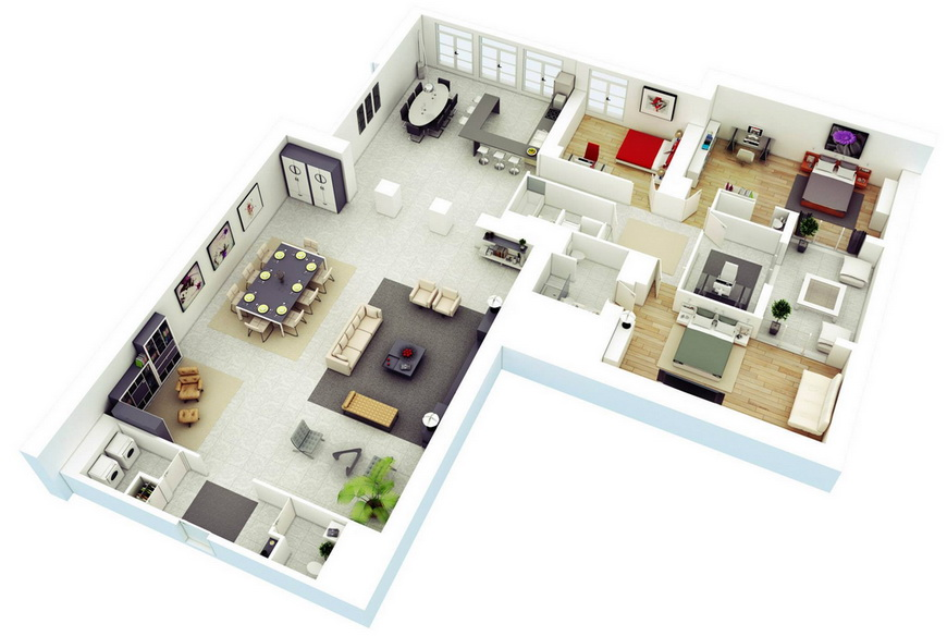 25-more-3-bedroom-3d-floor-plans (23)