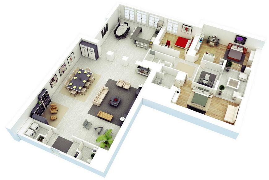 25-more-3-bedroom-3d-floor-plans (23)