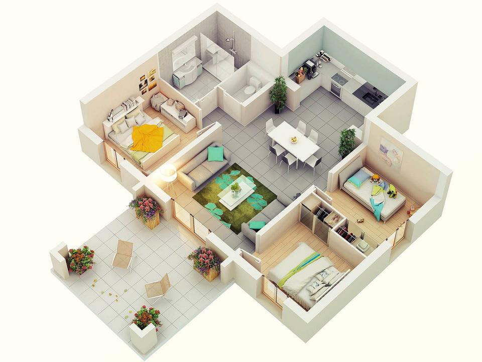 25-more-3-bedroom-3d-floor-plans (24)