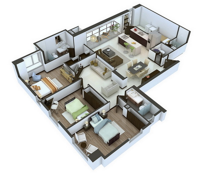 25-more-3-bedroom-3d-floor-plans (3)