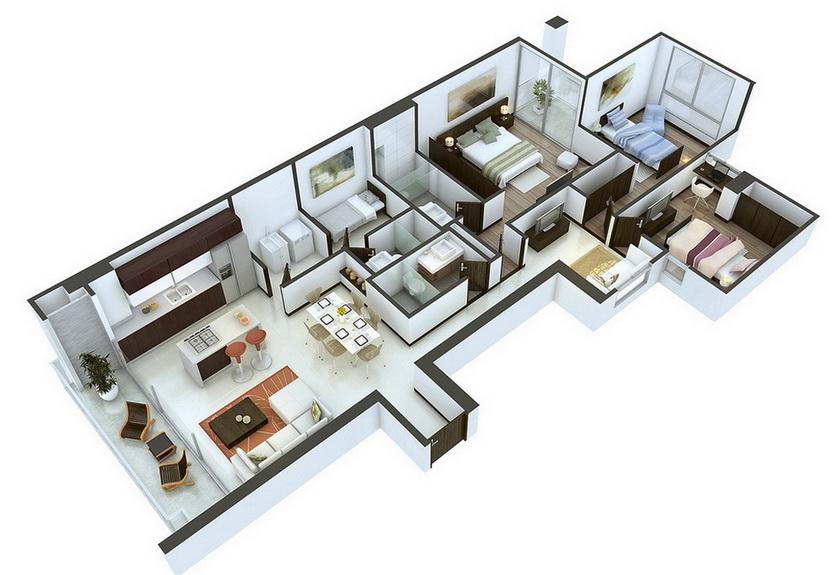 25-more-3-bedroom-3d-floor-plans (4)