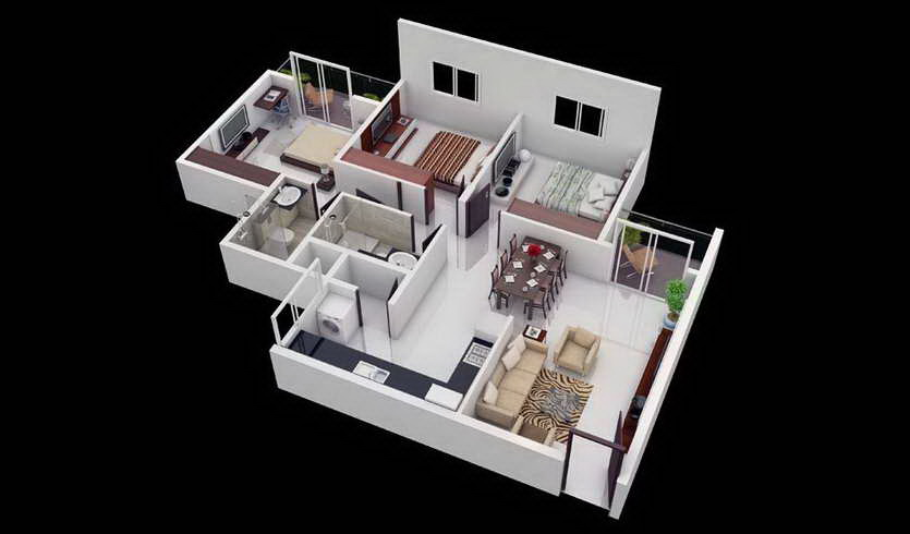 25-more-3-bedroom-3d-floor-plans (9)