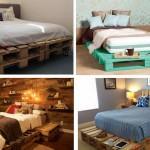 27 ไอเดีย เตียงไม้พาเลท เรียบง่าย ได้ใจ ในแบบฮิบๆ