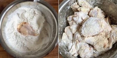 Korean fried chicken recipe (11)