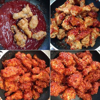 Korean fried chicken recipe (14)