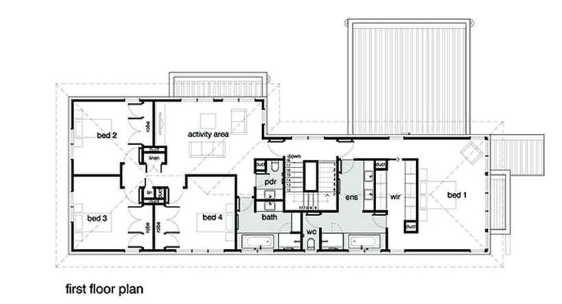 elegant modern 2 storied house (20)