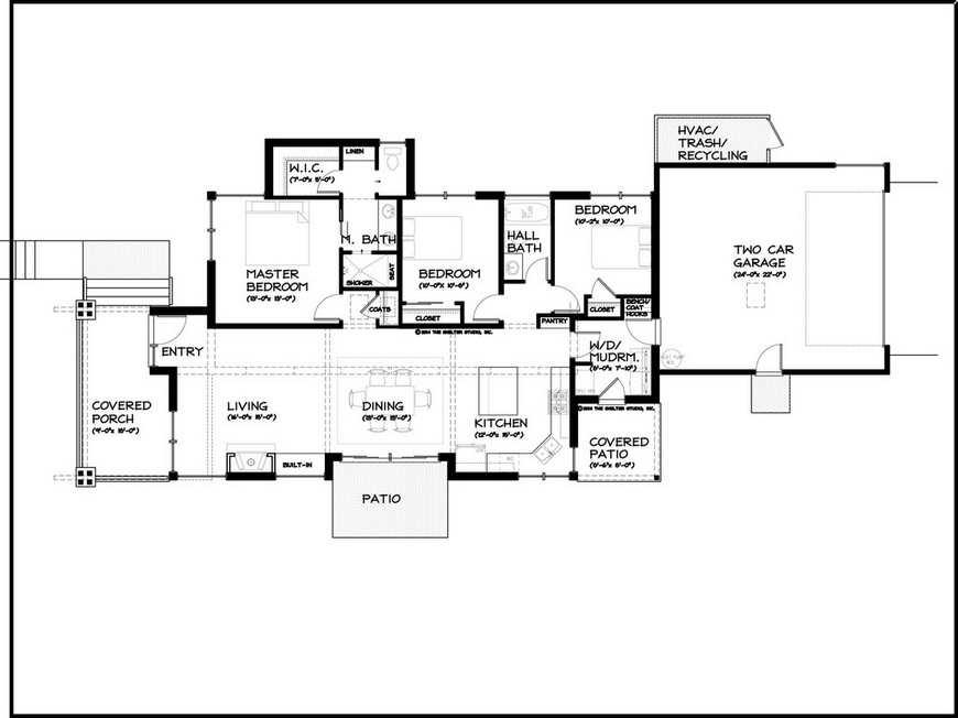 1floor modern natural decorating house (11)