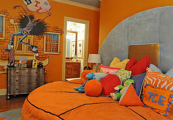 20 basketball theme bedroom ideas (11)