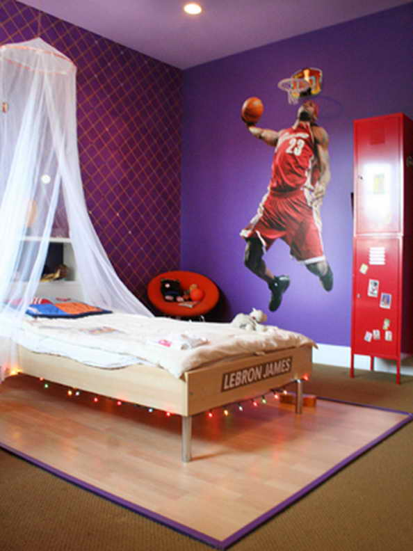 20 basketball theme bedroom ideas (12)