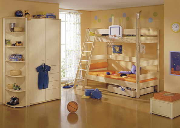 20 basketball theme bedroom ideas (13)