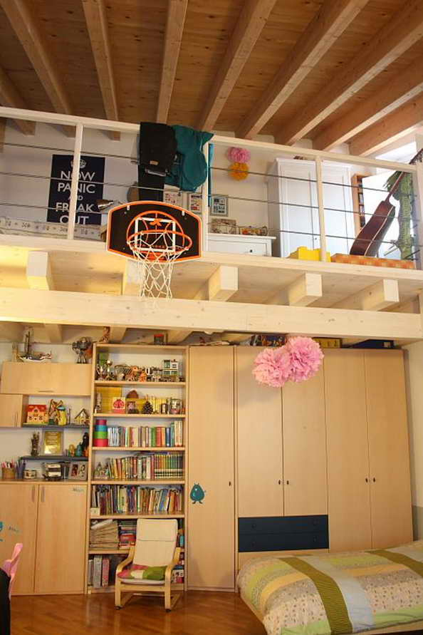 20 basketball theme bedroom ideas (15)