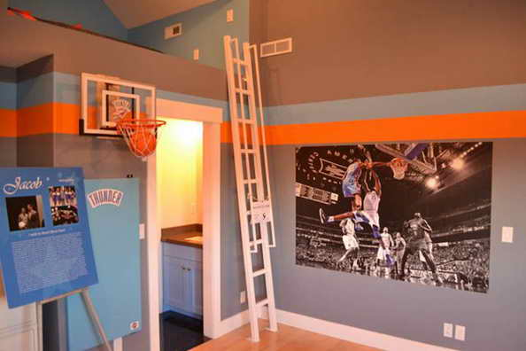 20 basketball theme bedroom ideas (16)