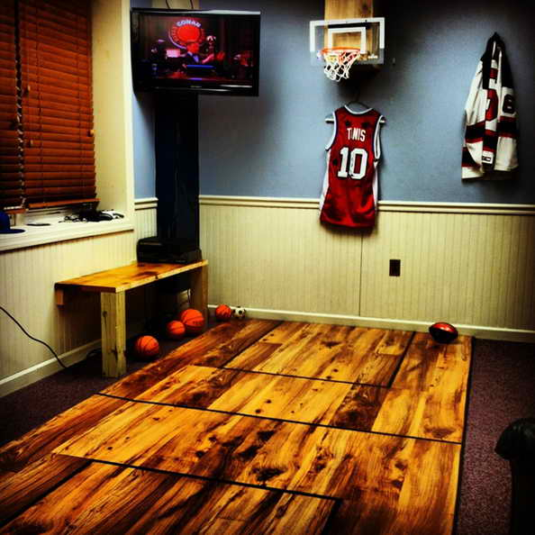 20 basketball theme bedroom ideas (17)