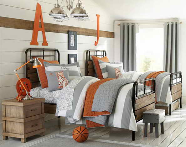20 basketball theme bedroom ideas (2)