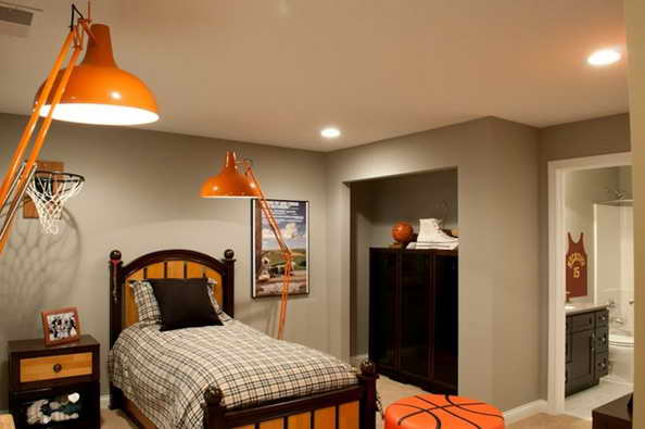20 basketball theme bedroom ideas (4)