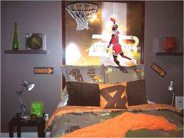 20 basketball theme bedroom ideas (5)