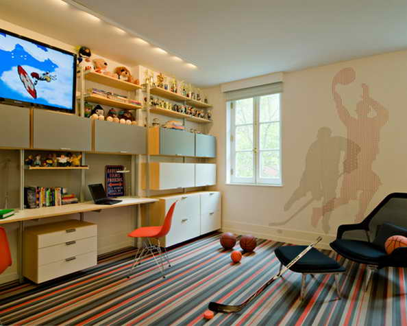 20 basketball theme bedroom ideas (9)